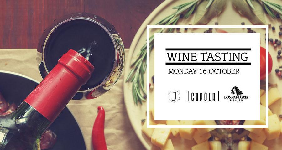 """Wine Tasting """"Donnafugata» στις 16/10/2017"""